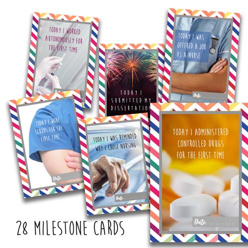 Student Nursing Milestone Cards